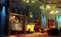 Peaceful Ravenclaw Common Room