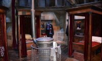 Sleeping in Gryffindor Dormitory During a Snowstorm