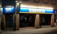 Is it just an empty Blockbuster Video Store? Perhaps