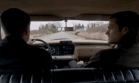 In the back seat of the Impala, dozing off into a deep slumber