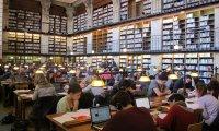 University library atmosphere
