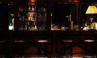 Sounds of a calm modern bar