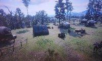 Sleep in the camp of the Van der Linde gang