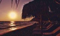 Greek Beach - Summer Night