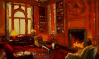 A Comfortable Study in 17th Century London