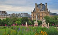Morning in the Tuileries