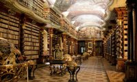 Asgardian Library with Loki