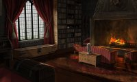 Gryffindor common area
