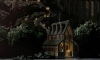 The Boathouse, Hogwarts Grounds Black Lake
