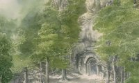 In the elven realm of Doriath.