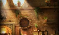 A few changes to a Hufflepuff Common Room ambience to make it a little more quiet and relaxed