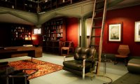 A Rainy Evening in Hannibal Lector's Office
