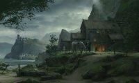 Quiet Medieval Village Ambiance