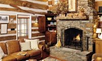 Cozy cottage and fireplace