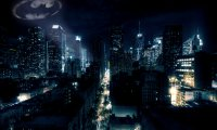 Gotham City evening