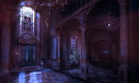 Caphex Sylin Halls - Nighttime