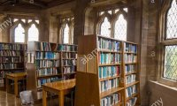 Medieval Castle Library