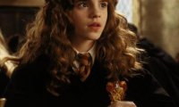 Hermione studying at dawn