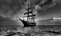 Sailing Ship Stormy Day Mod