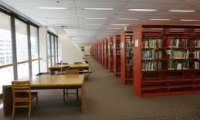 third floor of the library