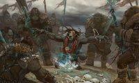 Orc Shaman Singsang at an Orc Camp