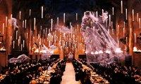 The Hogwarts Dining Hall on a Rainy Night