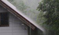 Rain in my backyard