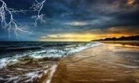 Storm on Hidden Beach