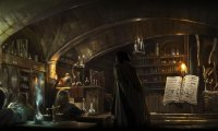 potions with the slytherins and ravenclaws