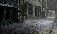 Victorian Street at night