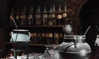 Detention in the Potions Classroom