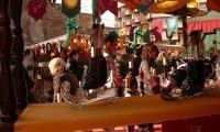 Market at the Mediterranean seashore