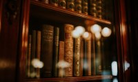 Old library ambience