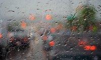 Rainy Day and Light Traffic