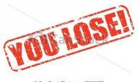 You lose soundboard
