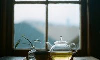 Sounds of tea, paper and writing