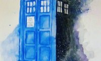 the woosh wooshing of the tardis