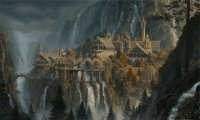 Study in Rivendell Library