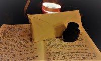 Rain, Write, crackling fires