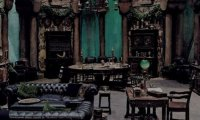 The typical Slytherin Common Room Atmosphere, but with a twist