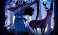 Hunting with Godess Artemis and her hounds