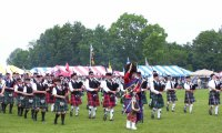 At a Scottish Highland Festival