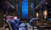 Ravenclaw's common room. Comes with pencils!