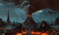 The plains of Mordor
