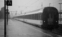 Rain and train