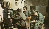 WWII Communications Centre, France, near the front...