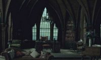 spooky old castle common room
