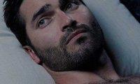 Curled up with Derek Hale