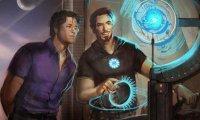 Tony and Bruce's lab