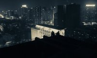 Soft night at a roof in Fixopolis